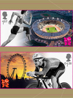 London 2012: Paralympic Stamps (Cropped Version)