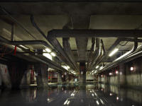 Old MI6 Building, London (Flooded Basement)